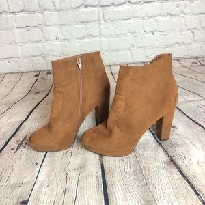 Mossimo Faux Suede Heeled Bootie